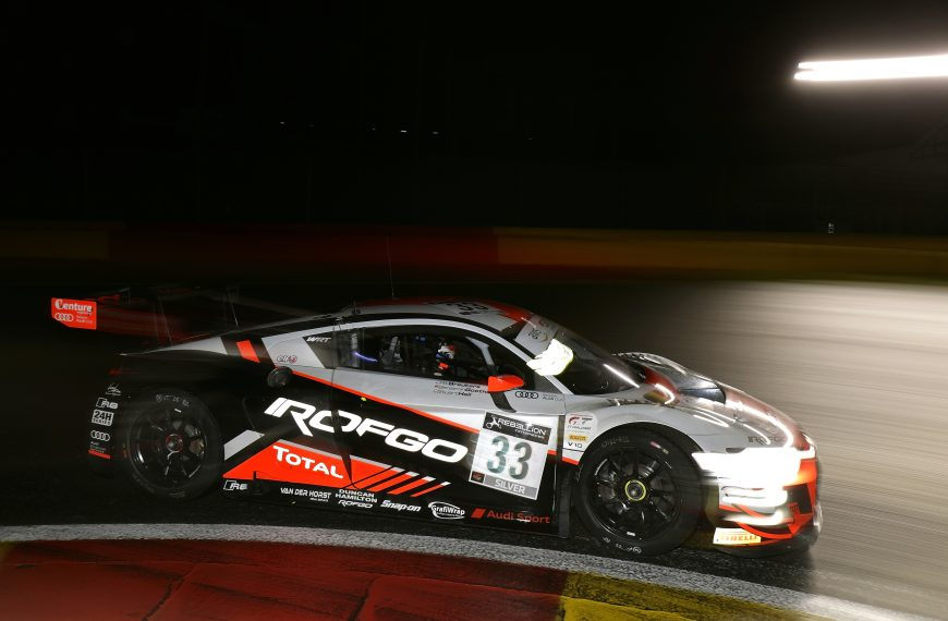 BENJAMIN GOETHE SHINES AT THE 24 HOURS OF SPA